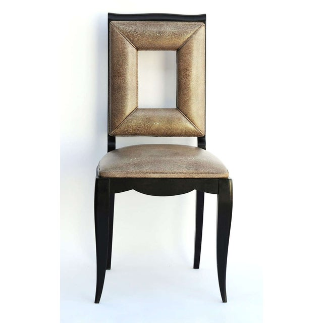 Art Deco Dining Table & 8 Chairs - Style of Leleu - Image 8 of 10