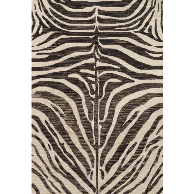 "Loloi Rugs Loloi Rugs Masai Rug, Java / Ivory - 5'0""x7'6"" For Sale - Image 4 of 4"