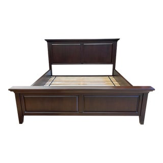 Eastern King Size Custom Design Wood Bed Frame For Sale