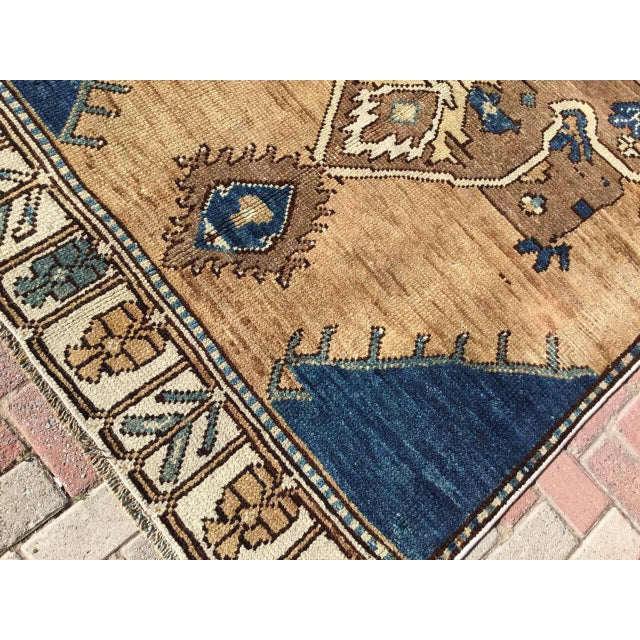 1950s Vintage Hand Knotted Anatolian Rug For Sale - Image 5 of 12