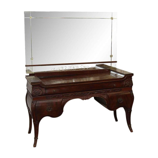 Vanity With Mirror - Image 1 of 10