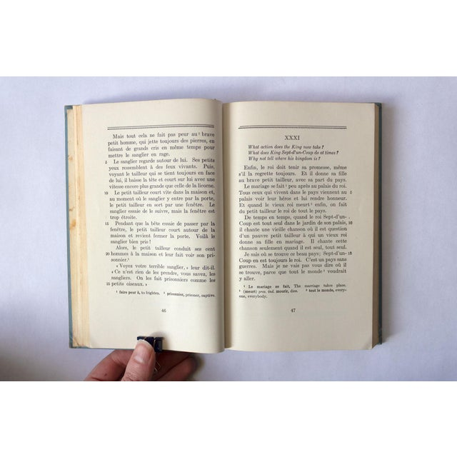 """""""Premiere Etape: Basic French Readings"""" French School Book For Sale - Image 10 of 11"""