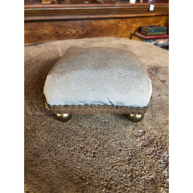Beautiful antique pincushion or jewelry riser- great for display of your collection.