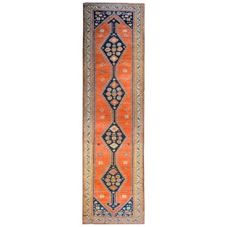 Wonderful Late 19th Century Antique Azari Rug For Sale