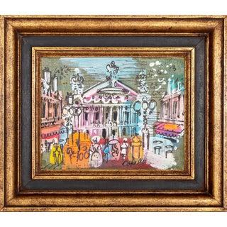 """Charles Cobelle, """"Palais Garnier Plaza, Paris"""", Painting For Sale"""
