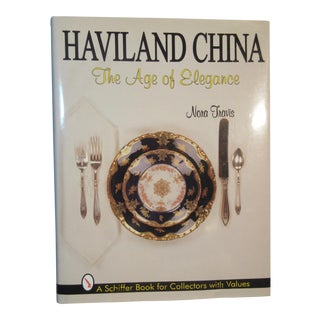 Haviland China the Age of Elegance Book Nora Travis For Sale