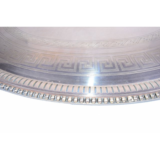 James Dixon & Sons for Sheffield Silver-Plate Tray For Sale - Image 7 of 10