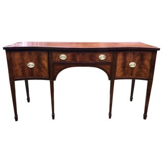 Mahogany Sideboard Hepplewhite, Circa 1820 For Sale