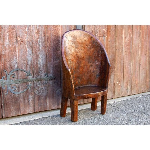 19th Century Chunky Tribal Naga Chair For Sale - Image 5 of 10