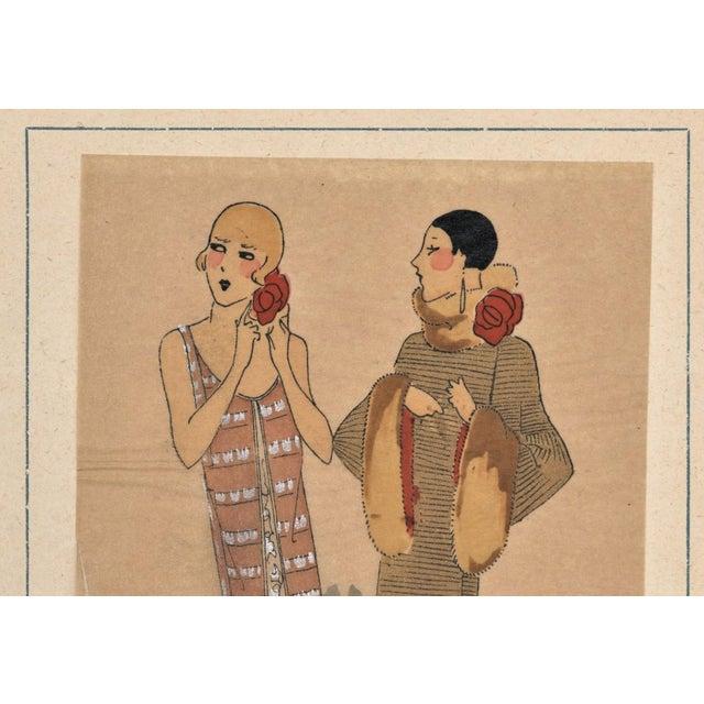 Art Deco Fashion Pochoir - Image 3 of 5