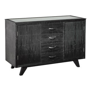 Ebonized Oak Sideboard by Angrave's For Sale