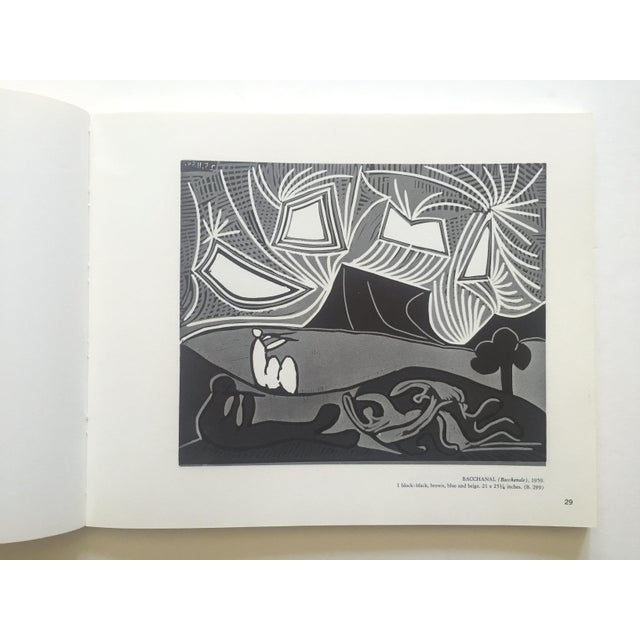 "Black "" Picasso Linocuts 1958 - 1963 "" Rare Vintage 1968 1st Edition Lithograph Print Collector's Exhibition Art Book For Sale - Image 8 of 13"