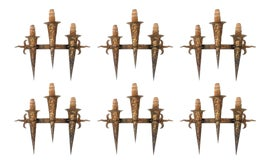Image of Torch Wall Sconces
