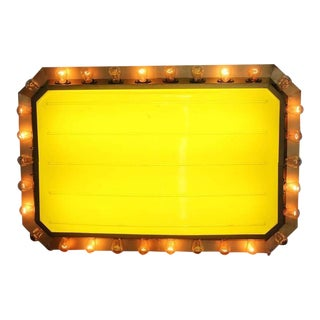 1950s Carnival Light Up Marquee For Sale