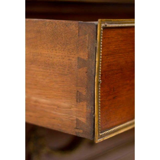 19th Century Louis XVI Style Walnut Bookcase Commode For Sale - Image 4 of 8
