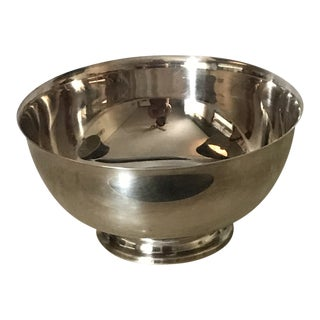 Barton and Reed Silver Serving Bowl