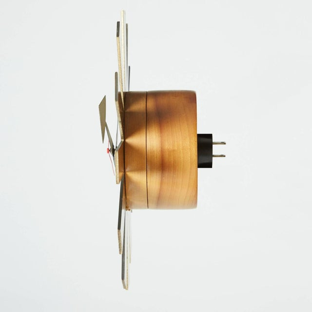 Asterisk Clock by George Nelson Circa 1953 - Image 4 of 5