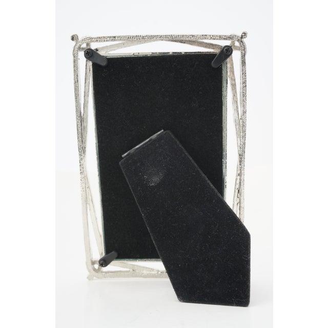 Hollywood Regency Vintage Photo Frame -- Bejeweled Encrusted for Tabletop Display For Sale - Image 3 of 9