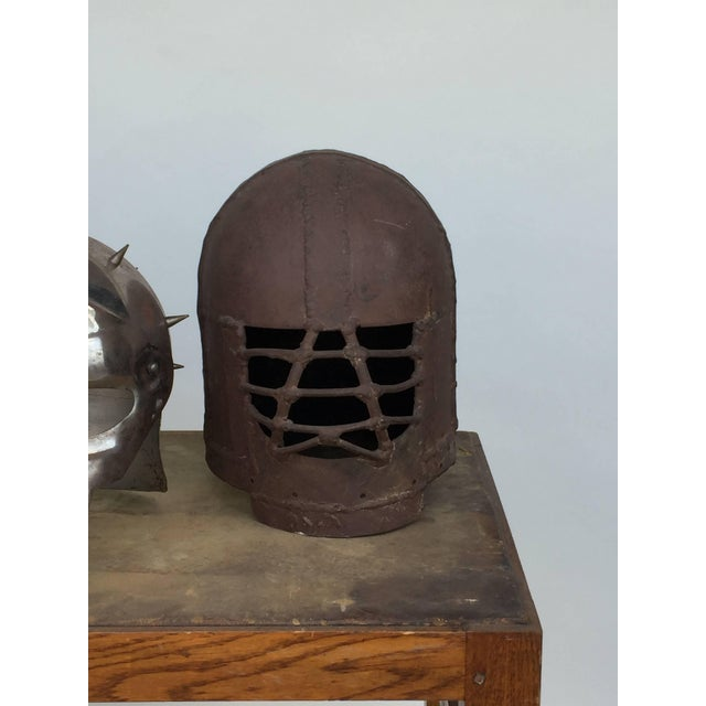 Late 20th Century Decorative Collection of Three Movie Prop Masks For Sale - Image 5 of 6