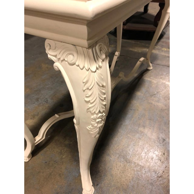 2010s Neoclassical George Sand Console Table For Sale - Image 5 of 11