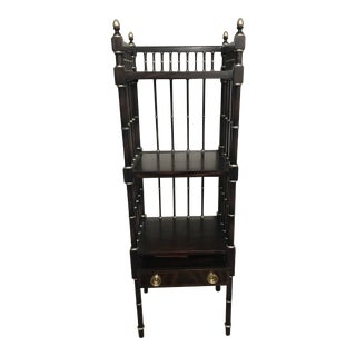 Hollywood Regency Maitland Smith Etagere For Sale