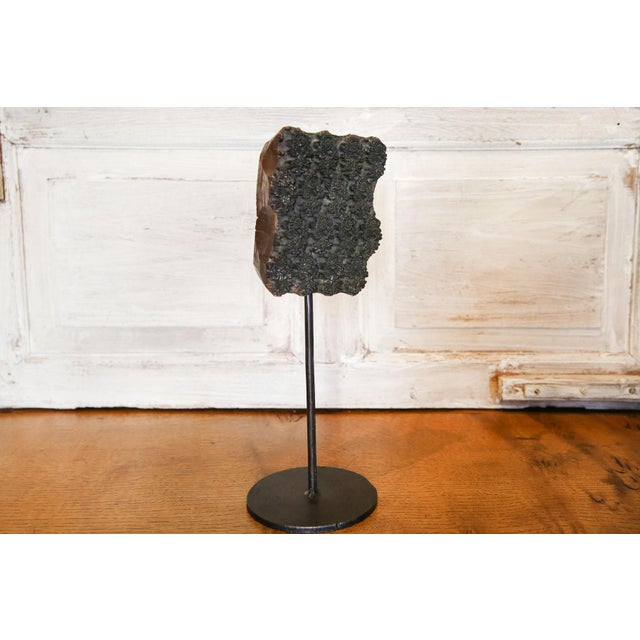 Boho Chic Keri Floral Print Block on Stand For Sale - Image 3 of 5