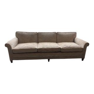Mid-Century Sloane Velvet Sofa For Sale