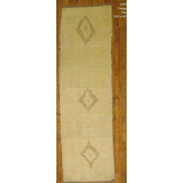 Vintage Shag Moroccan Runner - 2'10'' X 9'8'' - Image 2 of 3