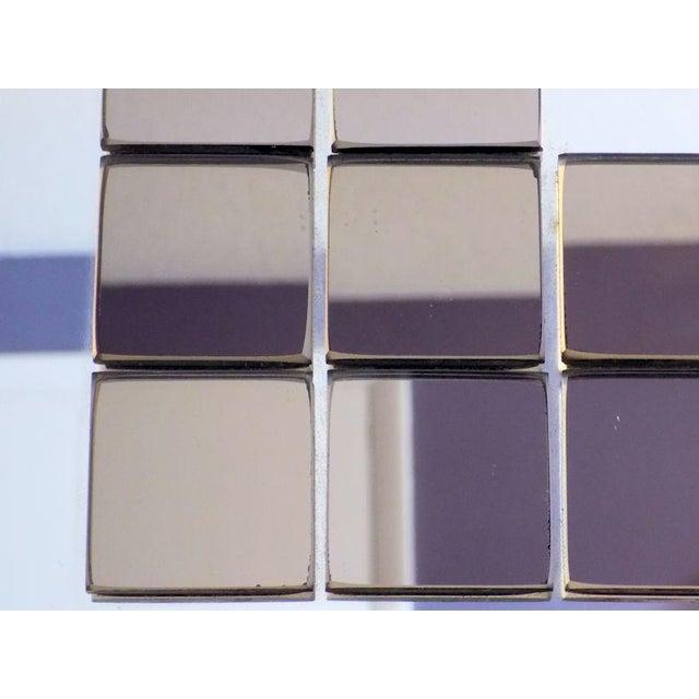 Tiled Hal Bienenfeld Pop Op Art Wall Mirror For Sale - Image 10 of 13