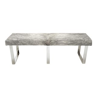 "BeBe 3 70"" Grey Brindle Bench For Sale"