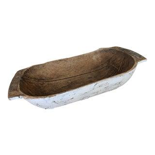 Antique Wooden Dough Bowl For Sale