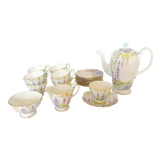 English Foley Tea Service For Sale