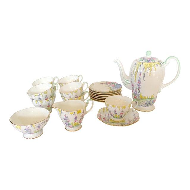 English Foley Tea Service - Image 1 of 4