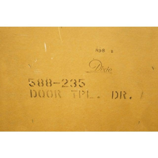 20th Century Italian Dixie Furniture Triple Door Dresser For Sale - Image 12 of 13
