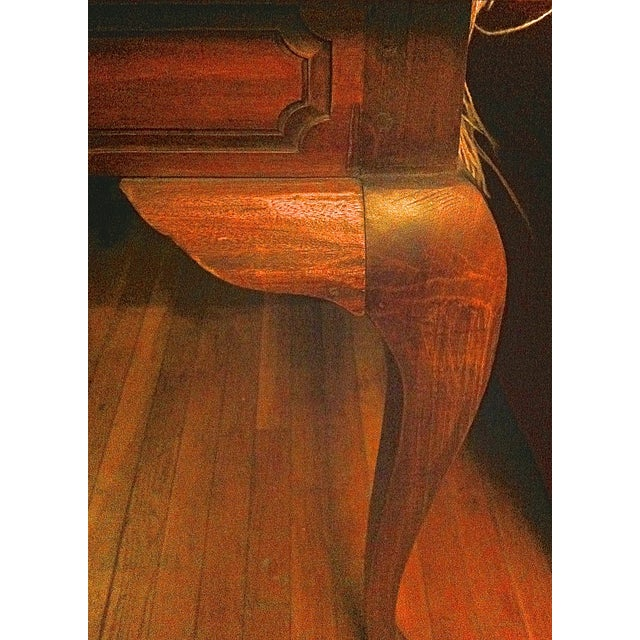 Handcrafted Antique Plank Top Sofa/Console Table - Image 6 of 10