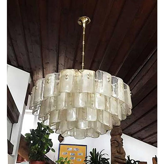 """This chandelier was made in the 1960s for Hotel """"Auerhof"""" in Carinthia, Austria, which was demolished in 1990. The style..."""