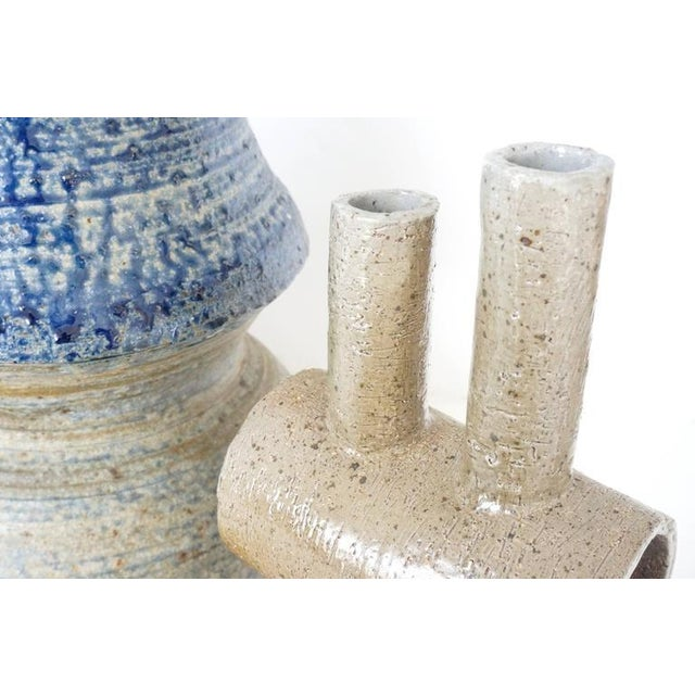 Collection of Three Mid-Century Modern, Studio Art, Stoneware Pieces For Sale In West Palm - Image 6 of 10