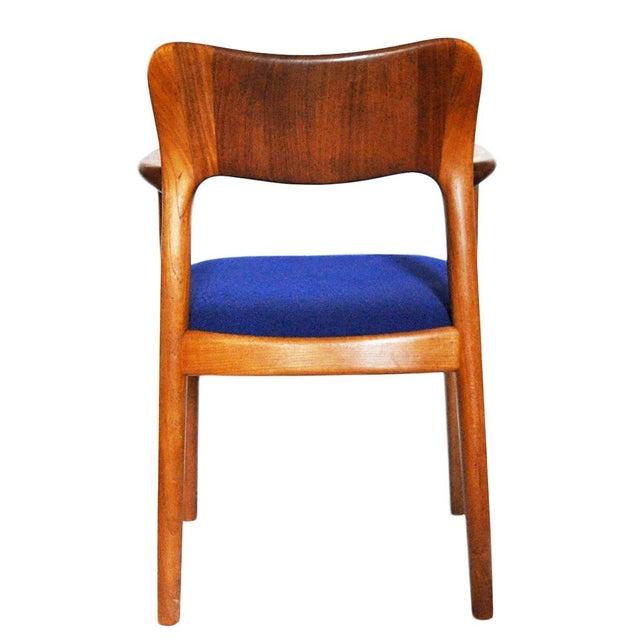 One 1960s Mid-Century Modern Koefoeds Hornslet Teak Arm Chair For Sale In Atlanta - Image 6 of 10