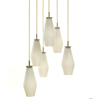 1950's Mid Century Modern Ceiling Fixture by Paavo Tynell Model Preview