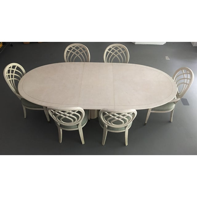 Henredon Dining Table & Chairs For Sale - Image 9 of 9
