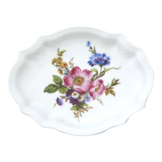 Richard Ginori Italian Antique Porcelain Soap Dish For Sale