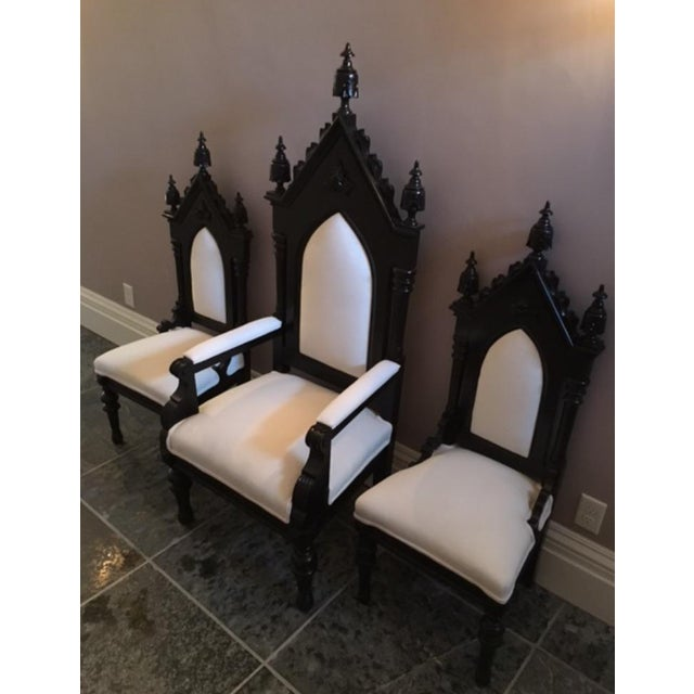King, Queen & Princess Chairs - Set of 3 For Sale - Image 5 of 5