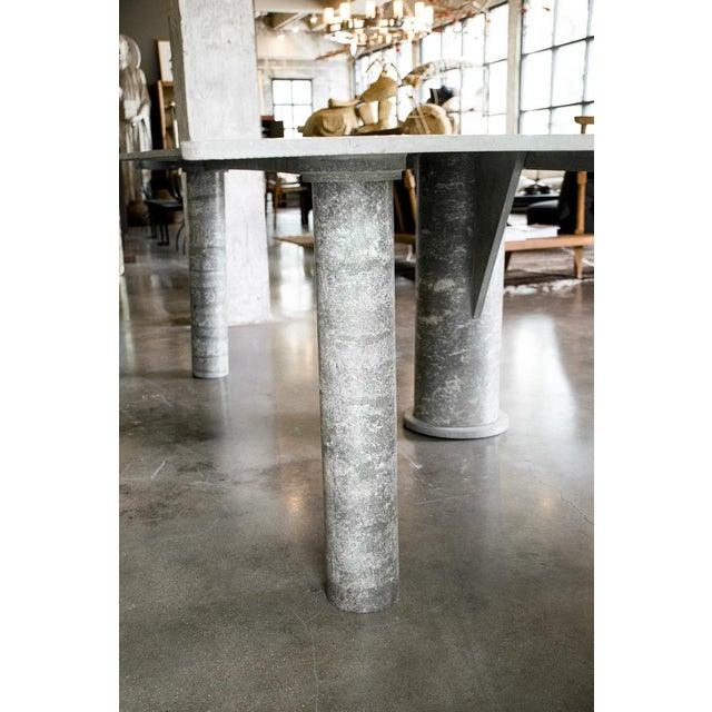 Concrete Desk, Italy, 1980s For Sale In Austin - Image 6 of 10