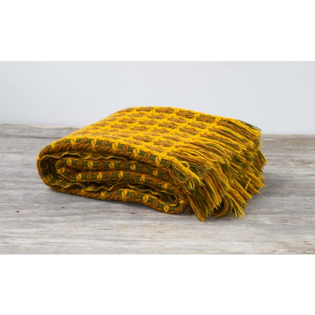 Vintage Pendleton Wool Knit Blanket - Image 2 of 7