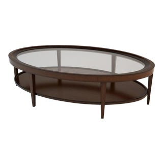 Transitional Barbara Barry for Henredon Cabochon Cocktail Table For Sale