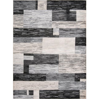 Momeni Logan Lilou Charcoal 2' X 3' Area Rug For Sale