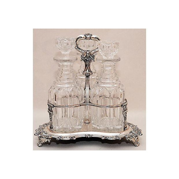 Triple Decanter Caddy - Image 3 of 5