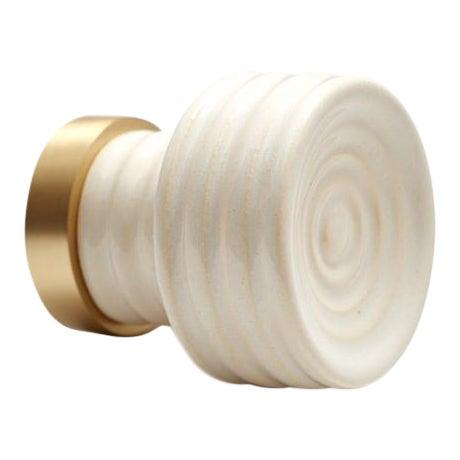 Nest Studio Collection Glaze-01 Soft White Knob For Sale
