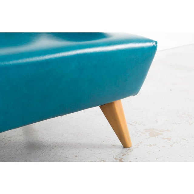 Turquoise Jens Risom Model 37 Sofa For Sale - Image 8 of 10