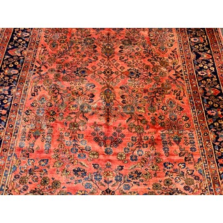 Early 20th Century Antique Persian Sarouk Area Rug - 8′5″ × 11′ Preview